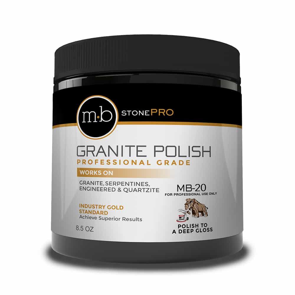 Professional granite polishing cream