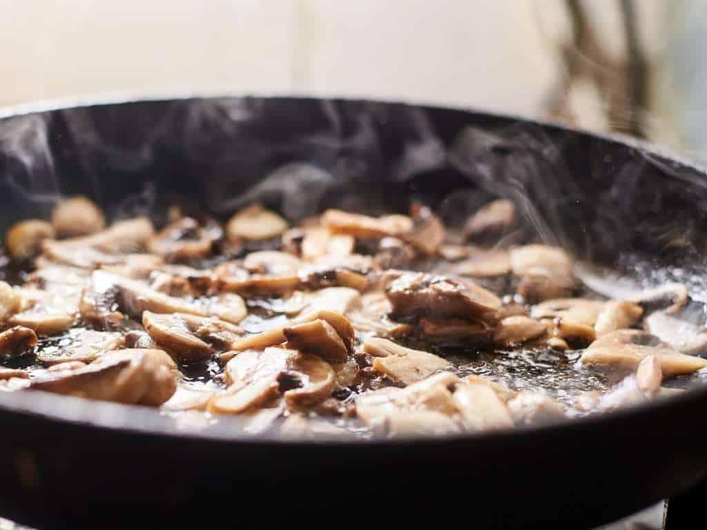 hot pan on granite countertop